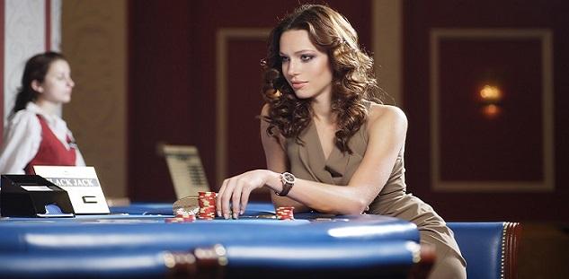 joueuse casino