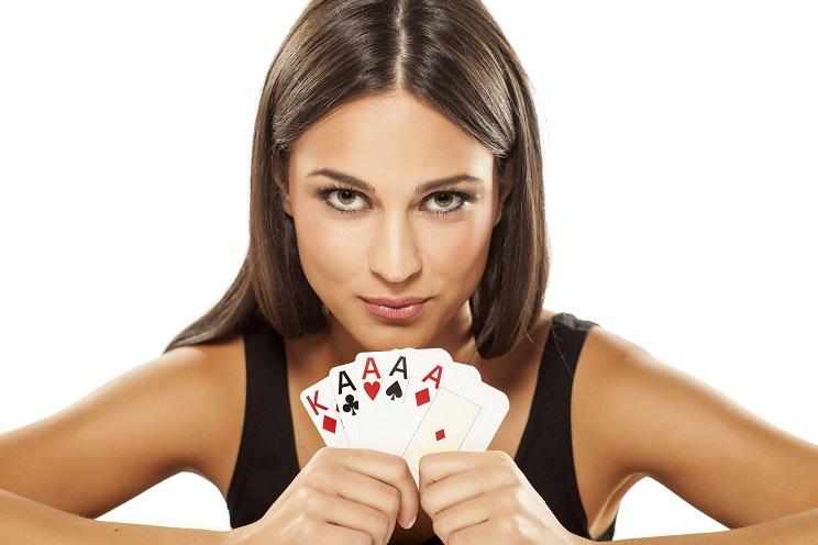 joueuse poker