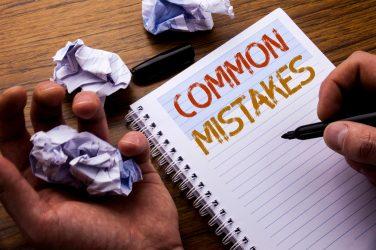 erreurs communes